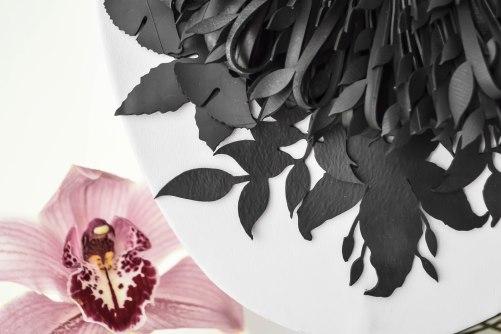 Dettaglio collana Natura e Orchidea