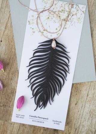 collana tropical argento rosa2